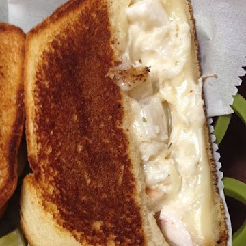 Crabby Grilled Cheese Sandwich Recipe