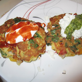 Low Carb Vegie Fritters