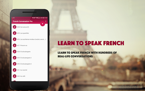 French Conversation Pro - náhled