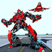 لعبة روبوت الهواء - تحلق روبوت تحويل الطائرة