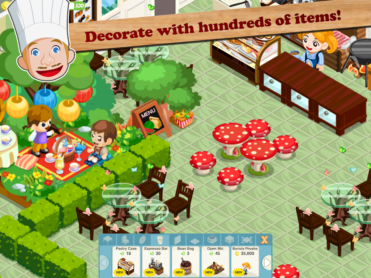 Home Design Game By Teamlava Restaurant Story Tropic Bliss Android Apps On Google Play