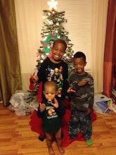 Photo: my nephews - Alijzah, Keon & Gabe