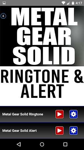 Metal Gear Solid Ringtone