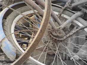 Photo: Day 304 - Pile of Old Bikes #2