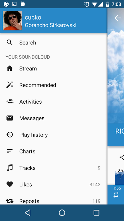 My Cloud Player for SoundCloud- screenshot