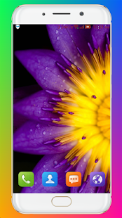 Download Purple Flower Wallpaper For PC Windows and Mac apk screenshot 6