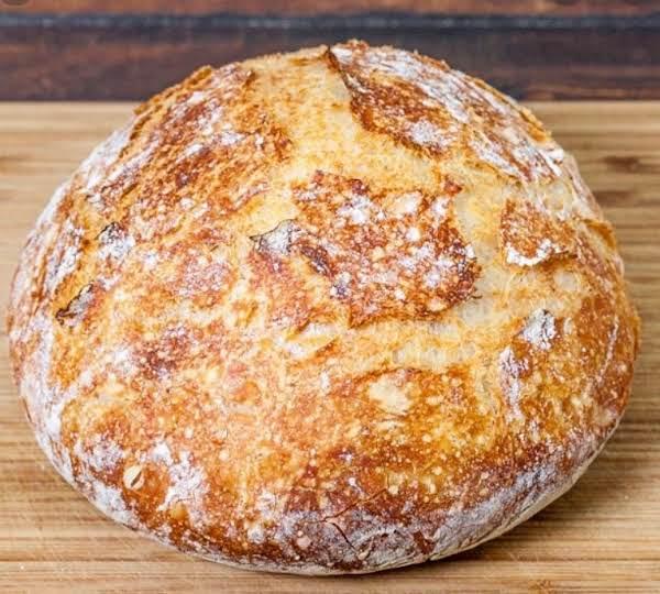 No Knead Crusty Bread_image