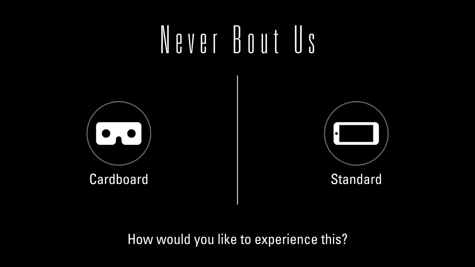 Cameron Grey: Never Bout Us VR- screenshot