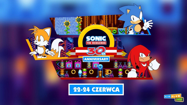 Sonic the Hedgehog 30th Anniversary z BlueBlur Center - Harmonogram