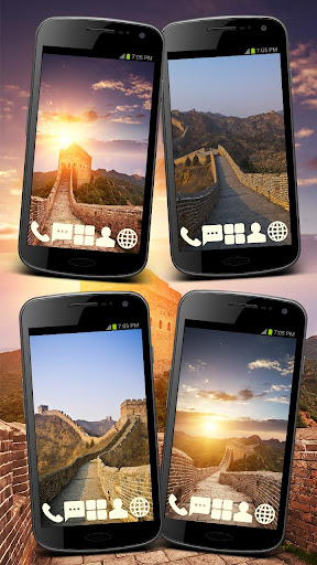 Great China Wall Theme GO ADW