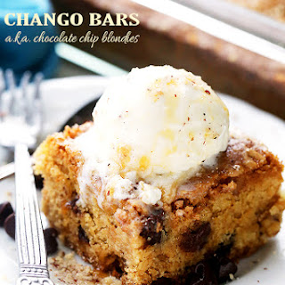 Chango Bars (Chocolate Chip Blondies)