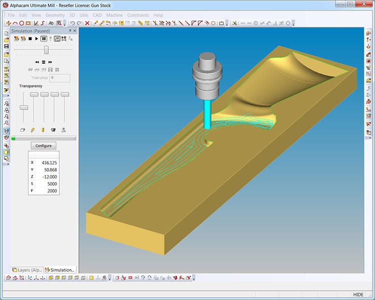 3D-фрезерование ALPHACAM