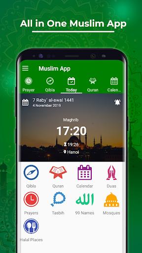 Muslim App screenshot 1