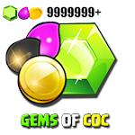 Gems for Clash calc - COC 1.0