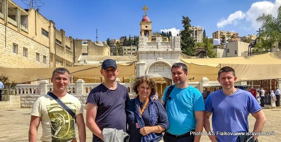 Отзыв - рекомендация - гид в Иерусалиме и Израиле. 2-х дневная экскурсия по Иерусалиму и Галилее Христианской.