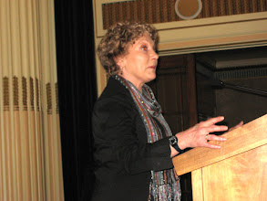 Photo: Award ceremony - Julia Hughes, North Notts LGB Development Group