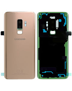 Galaxy S9 Plus Back Cover Gold