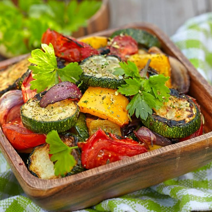 1-2-3 Marinated Veggies for the Grill