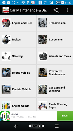 Auto Repair Basics screenshot