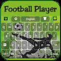 Jogador de Futebol Teclado icon