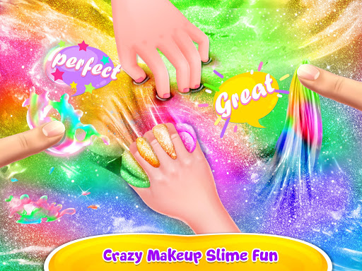 Make-up Slime - Girls Trendy Glitter Slime  screenshots 10