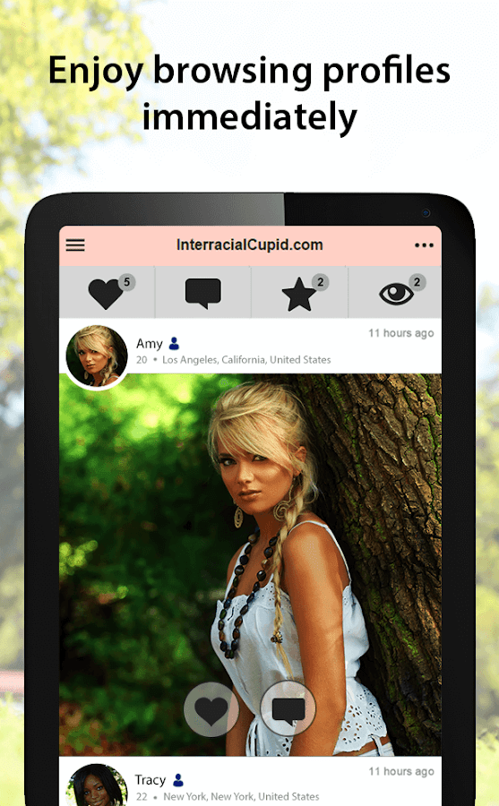 InterracialCupid - Interracial Dating App- screenshot