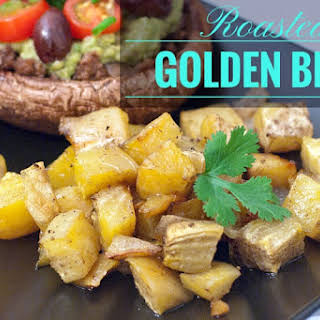 Roasted Golden Beets.