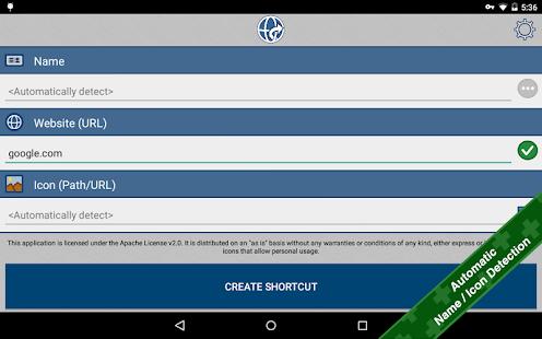 Website Shortcut Screenshot 7