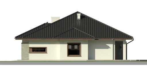 Dom przy Pastelowej 2 - Elewacja prawa
