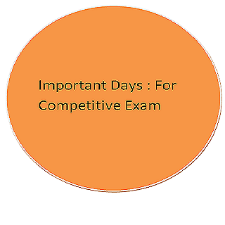 Important Days in a year: Exam