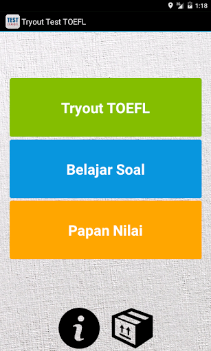 Tryout Test TOEFL