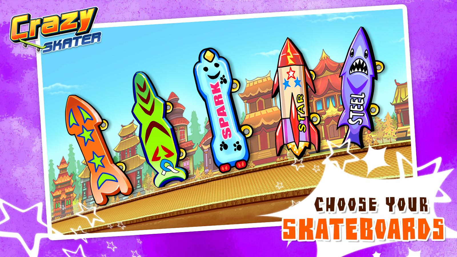 Crazy Skater- screenshot