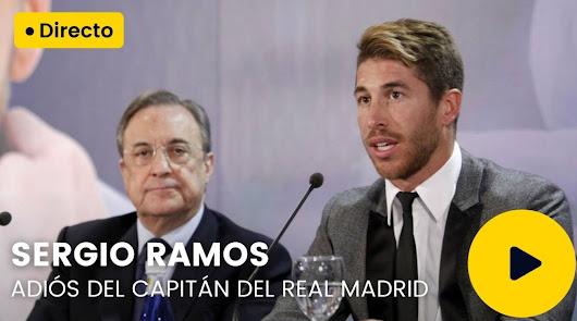 """Ramos: """"No me quería ir del Madrid"""""""