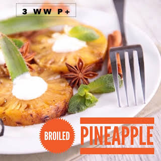 Broiled Pineapple with Marshmallows 3 WW P+.