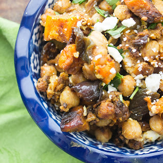 Moroccan Roasted Vegetable Salad.