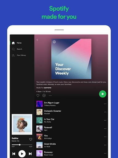 Spotify Music v8.4.22.827 Beta Mod APK