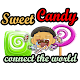 Sweet candy connect the world