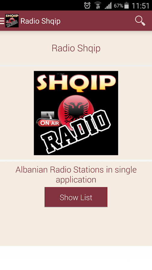 radio shqip app