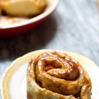 Apple Cinnamon Pretzel Rolls