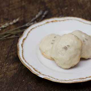 Lavender Lemon Drop Cookies