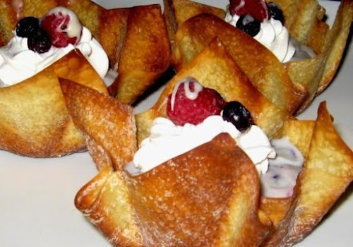 "White Choco-Cheesecake Triple Berry Pudding Cups ""This dessert is a real conversation..."