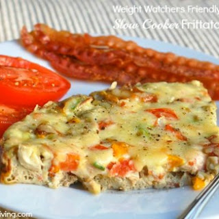 Easy Healthy Slow Cooker Frittata