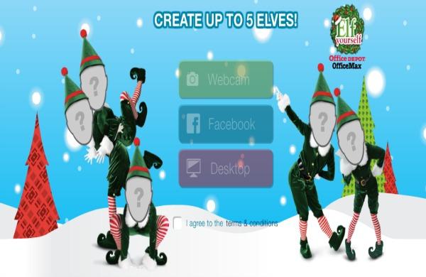 4 Siti per Creare Cartoline Animate di Natale con Elfi Ballerini