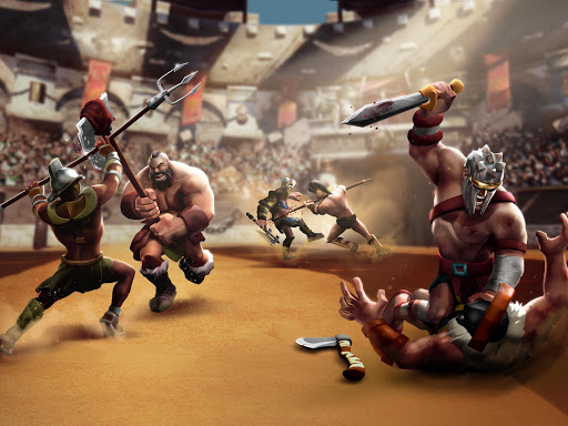 Gladiator Heroes Clash: Fighting and strategy game  screenshots 18