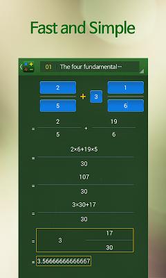 Elementary Math Calculator - screenshot