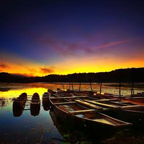 morning has broken at tamblingan lake, bali by 777aan Aan - Landscapes Sunsets & Sunrises
