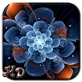 Neon Flower APUS Live Wallpaper Android APK Download Free By Cool Theme Team