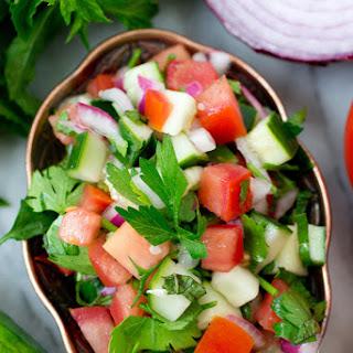 Jerusalem Salad (aka Middle Eastern Salad)