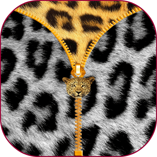 豹紋拉鍊屏幕鎖定 工具 App LOGO-硬是要APP
