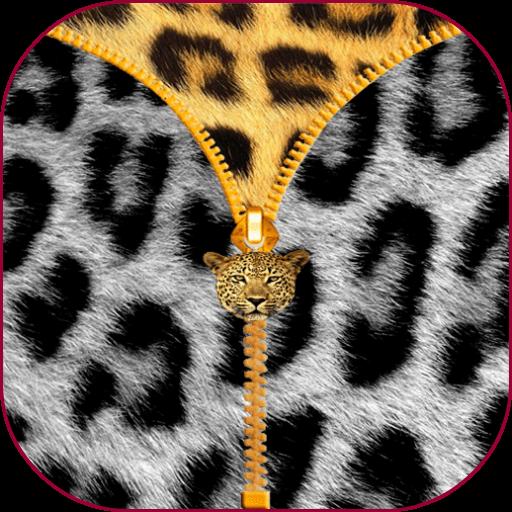 Leopardのジッパーの画面のロック 工具 App LOGO-硬是要APP